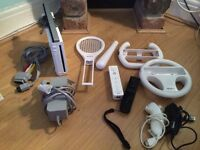 Nintendo wii and games and accessories