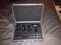 AKG Groove Pack Drum Microphone Set (Six Mic set)