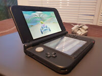 Red Nintendo 3DS XL With Games