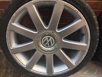 """Audi tt 18"""" 5x100 alloys"""