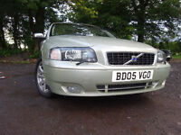 05 VOLVO S80 TURBO SE LUX 2.5 AUTOMATIC,MOT JULY 018,2 KEYS,PART-HISTORY,2 OWNERS,STUNNING EXAMPLE