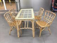 """Conservatory table chairs """"FREE LOCAL DELIVERY """""""