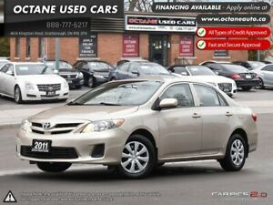 2011 Toyota Corolla CE FINANCING AVIALABLE!
