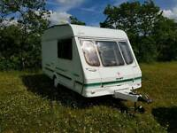 Very Tidy 2 Berth Swift Silhouette.