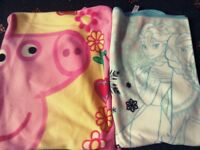 Children's fleecy blanket