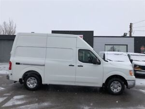 2017 Nissan NV 2500 SV. shelving available!