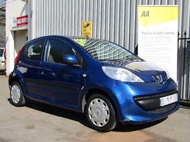 Peugeot 107 1.0 12v Urban 5dr, New Mot + 3 Months Warranty