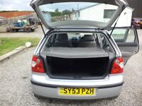 VW POLO 1.4cc 2003 4door.