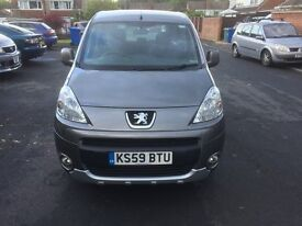 Peugeot Partner Tepee S (110) Petrol 1.6. Good Condition Full Service History Priced to sell.