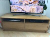Ikea tv bench oak effect