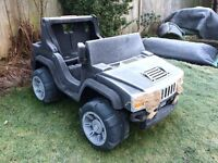Kids Jeep Hummer Play Car