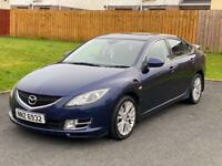 Blue 2008 Mazda 6 2.0 TS2 diesel for sale, may swap or P/X