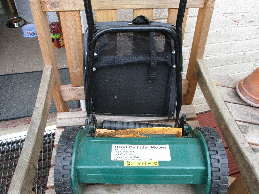 HAND CYLINDER MOWERin Maidstone, KentGumtree - Nearly new hand cylinder mower with a cutting width of 30 cms. Ideal for the smaller patch of grass