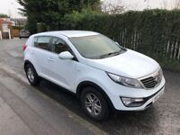 Kia Sportage Diesel only 39k miles, 2 years warranty left, full dealer service history. Perfect car.