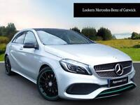Mercedes-Benz A Class A 220 D MOTORSPORT EDITION PREMIUM (silver) 2016-04-07