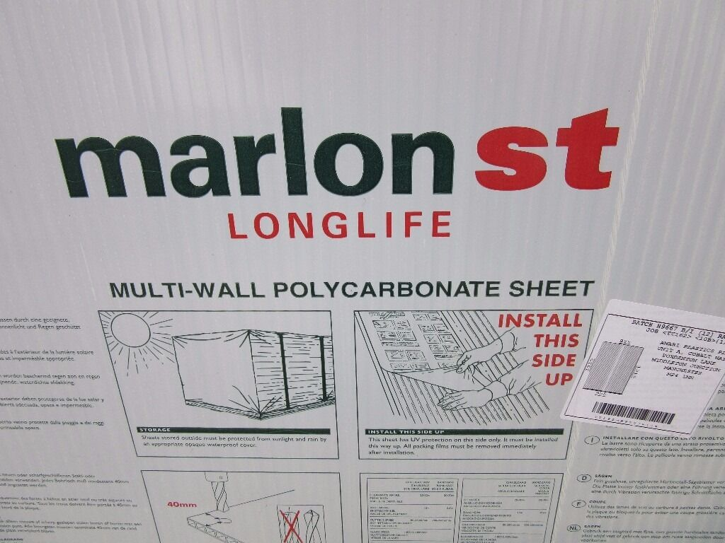 Marlon St Longlife Multiwall Polycarbonate Brown Sheets X
