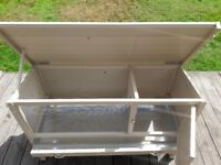 Rabbit / Guinea Pig Hutch - As New & Never Used