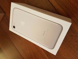 Brand New Boxed iPhone 7 32GB Silver