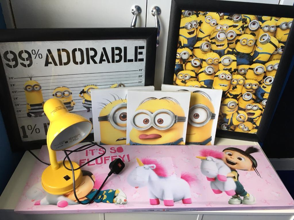 Minion bedroom accessories | in West Calder, West Lothian | Gumtree
