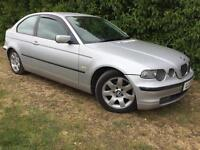 AUTOMATIC BMW 318 COMPACT - LEATHER - MOT DECEMBER 2017