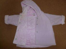 Newborn fleece jacket