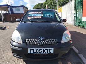 2005 (05 reg) Toyota Yaris 1.0 VVT-i T3 3dr Petrol 5 Speed Manual Low Miles hatchback