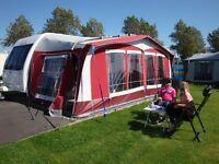 Dorema Montana caravan awning, size 15 (1000-1025).