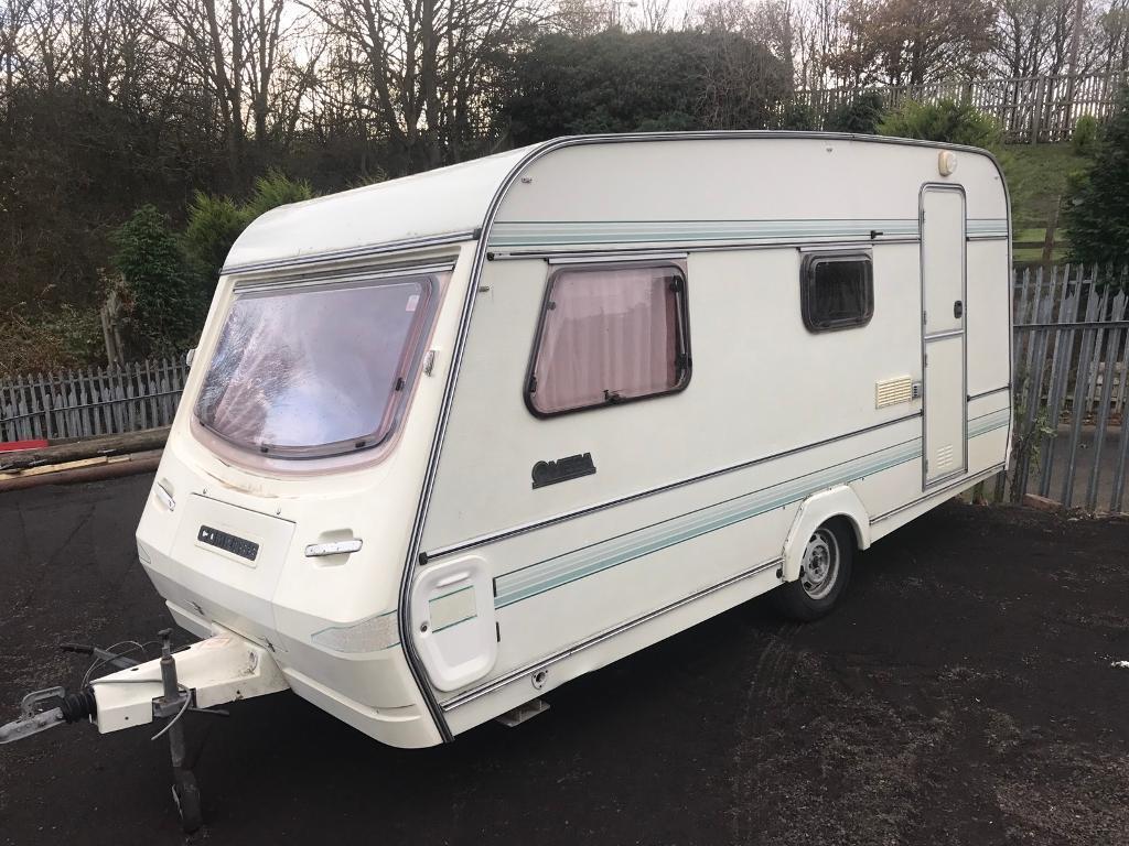 Caravan shed allotment repair camper interior