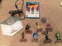 Nintendo WII U Disney infinity game and characters