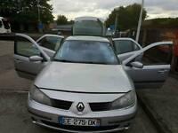 LHD Renault Laguna 1.6 low mileage