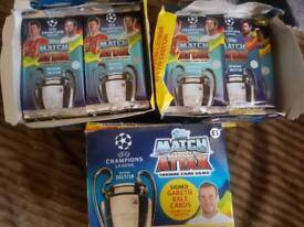 Match attax 50 packets in 1 box