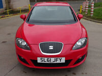 2011 61 SEAT LEON 1.6 CR TDI ECOMOTIVE S AC 5d 103 BHP *FINANCE AVAILABLE*PART EX WELCOME*