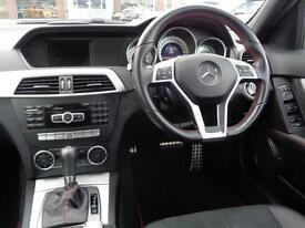 Mercedes-Benz C Class C250 CDI BLUEEFFICIENCY AMG SPORT PLUS (white) 2013-09-30
