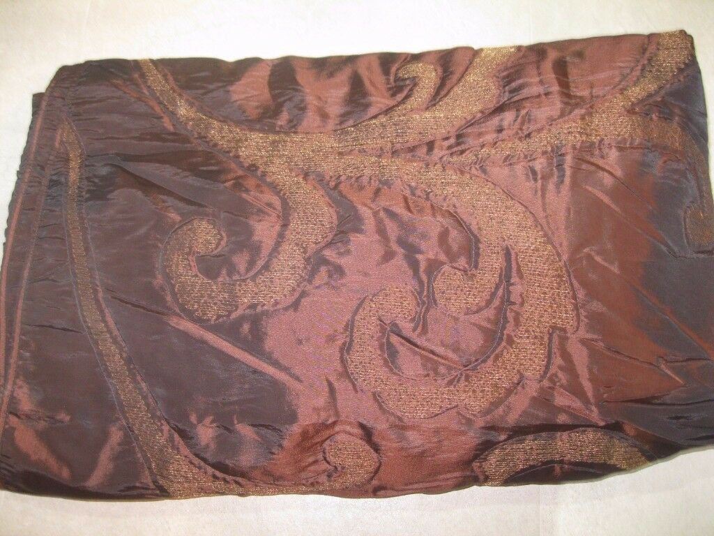 Brown King Size Quilted Throw from NEXT, immaculate condition