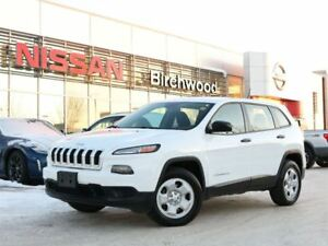 2015 Jeep Cherokee Sport Great Condition, Local Vehicle
