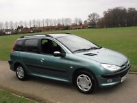 BREAKING FOR SPARES ! PEUGEOT 206 SW ESTATE.
