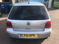 2001 VW Golf V6 4 Motion