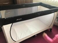 Hauck travel cot excellent condition