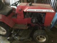 Wheel Horse C125 Tractor Mower.