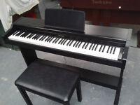 Digital piano Technics 103m, good working condition, black in colour, can deliver anywhere UK
