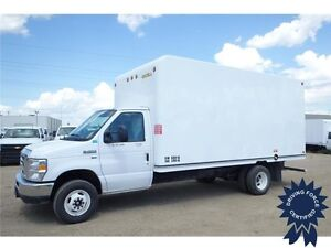 2016 Ford E-450 16 ft Cube Van, 5.4L V8, 16,223 KMs, RWD System