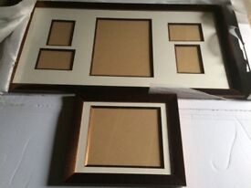 Mounted picture frames