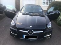 Mercedes-Benz SLK Convertible 2012 R172 2.1 SLK250 CDI BlueEFFICIENCY AMG Sport 7G-Tronic Plus 2dr