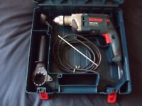 BOSCH GSB 16 RE Professional Impact Drill 230V, 750W in carry case: VGC