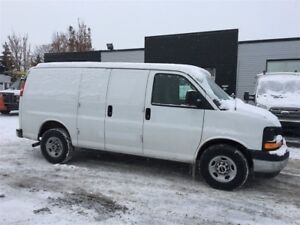 2017 GMC Savana 2500 low kms. fin or lease from 4.99%oac