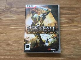 Rise and fall civilisations at war pc game