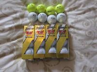 20 x SRIXON Z STAR GOLF BALLS - 12 BRAND NEW + 8 GRADE A
