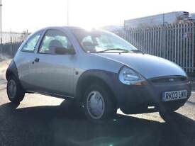 2003 FORD KA 1.3 * LOW MILES * PETROL * LONG MOT *IDEAL FIRST CAR * CHEAP INSURANCE * P/X