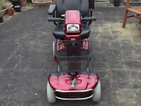 rascal deluxe mid range mobility scooter,4 mph,great condition,free local deliver other cost fuel