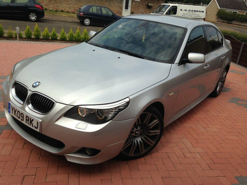 2009 bmw 535d 5 series e60 m sport auto twin turbo 286bhp. Black Bedroom Furniture Sets. Home Design Ideas